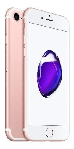 Imagen 1 de 5 de Celular iPhone 7 128gb Rose Gold + Funda + Audifonos