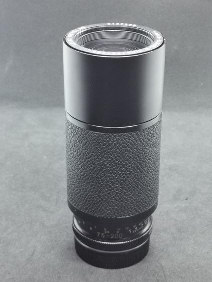 Lente Zoom Leica 75-200mm 4.5 - Impecável - Adaptador Sony