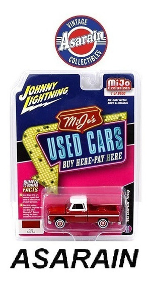 Chevrolet Pick Up 1965 Used Cars Mijo Johnny Lightning 1/64