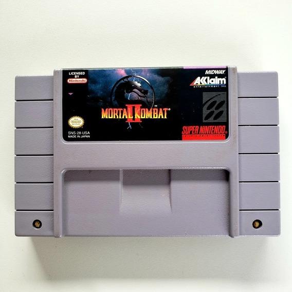 Mortal Kombat 2 Snes Original Super Nintendo