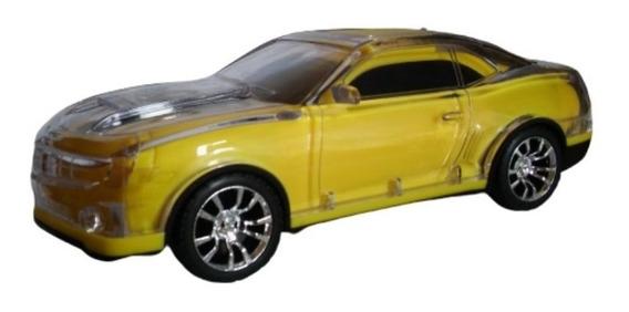 Camaro Amarelo Caixa De Som Portátil Al-8035 Bluetoot,mp3,sd