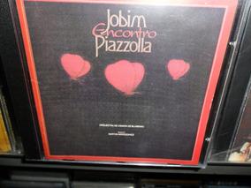 Cd Orquestra De Câmera Blumenau Jobim Encontro Piazzolla