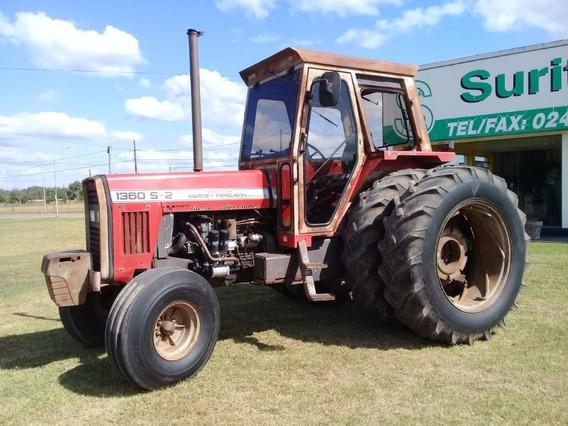 Tractor Massey Ferguson 1360 S2 Con Duales. Muy Buen Estado