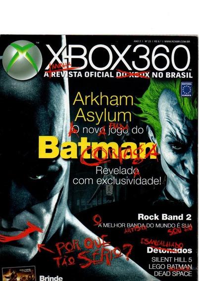 Revista Xbox 360 Especial Batman Vs Coringa #23
