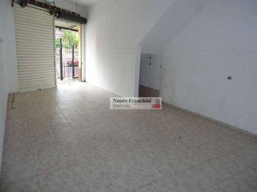 Salão Para Alugar, 50 M² Por R$ 1.250,00/mês - Limão - São Paulo/sp - Sl0015