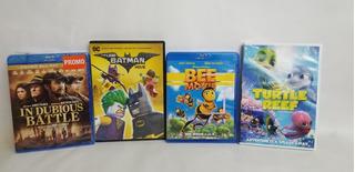 4 Peliculas Dvd Batman Bee Movie In Dubiuos Blue Ray L915