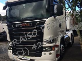 Scania R440 6x4 2015 Teto Alto /volvo Fh 440 420 460 540 500