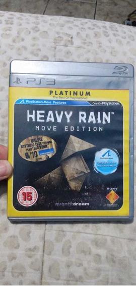 Heavy Rain Move Edition Original Para Ps3- Versão Platinum