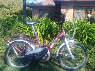 Bicicleta Niña Rodado 16.