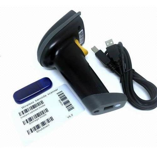Leitor De Código Barra Laser Wireless Sem Fio Usb Yhd-5600