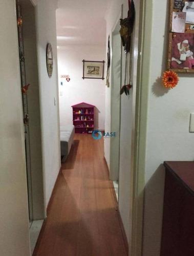 Apartamento Com 1 Dormitório À Venda, 46 M² Por R$ 255.000,00 - Santo Amaro - São Paulo/sp - Ap7613
