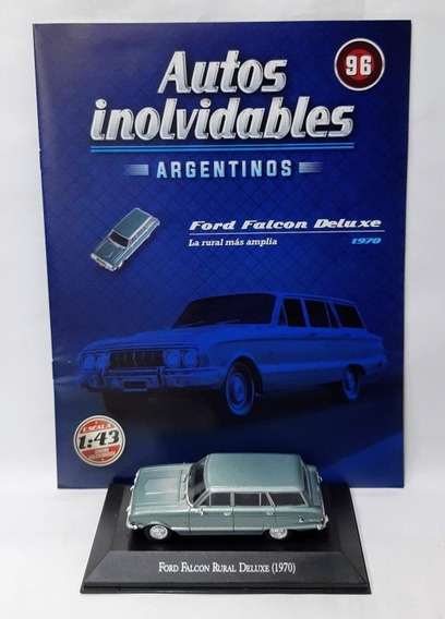 Autos Inolvidables Argentinos N° 96 Ford Falcon Rural Deluxe