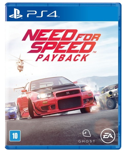 Need For Speed Payback (midia Fisica Leg Pt-br) - Ps4