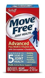 Move Free Glucosamina Vit D3 Condroitina Msm Ácido Hialuroni
