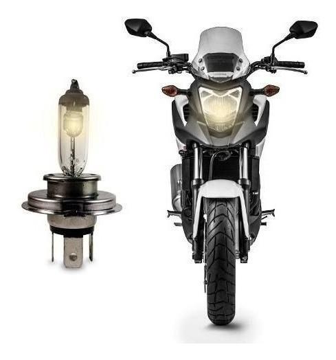 Lampada Farol Moto H4 Halogena Cg 125 Fan / Fan Ks 2005-2013