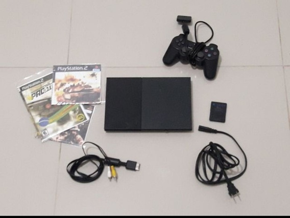 Playstation2 Slim Semi Novo Ótimo Estado