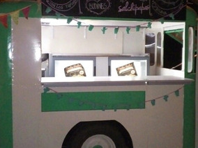 Food Trucks Carro De Comidas Puesto Ambulante