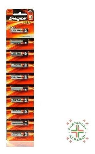 Imagen 1 de 2 de Pilas Energizer A A A X 10 Unidades