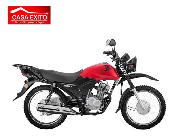 Moto Honda Cb1 X Tuf 125cc Año 2020 Color Negro, Rojo