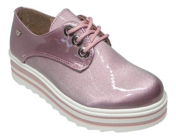 Tenis Zapatos #18-23 Niña Bambino Charol 3193 R
