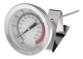 Termômetro 40cm Culinário/cervejeiro/fritadeira - Clip
