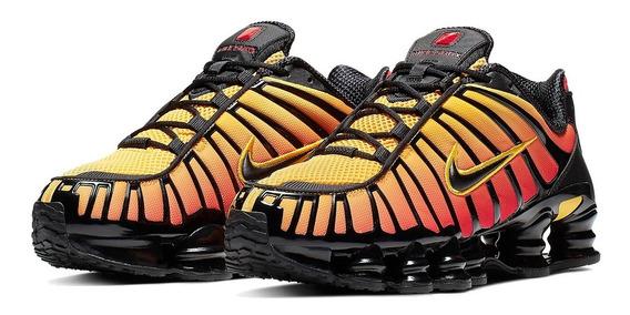Nike Shox Tl 12 Molas Tigre