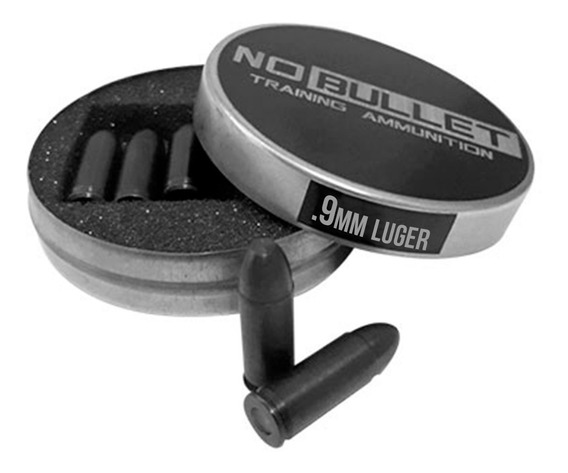 Snapcaps Manejo No Bullet Cal. 9mm Treinamento Pistola Cac