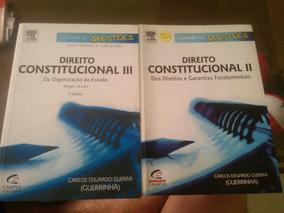 Direito Const Guerrinha Volumes Ii E Iii