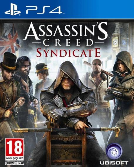 Assassins Creed Syndicate Ps4 Signature Mídia Física