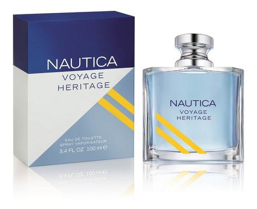 Perfume Nautica Voyage Heritage Original - L a $182