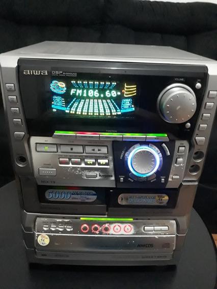 Mini System Aiwa T9! Só Central! Reparar Correias, Cd,deck!