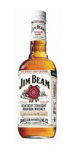 Whisky Jim Beam White 1 Lt