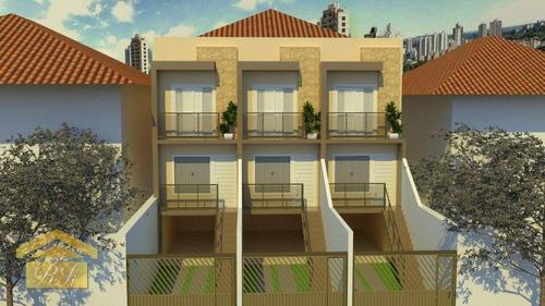 Imagem 1 de 2 de Sobrado Com 2 Dormitórios À Venda, 85 M² Por R$ 583.000,00 - Jardim Aeroporto - São Paulo/sp - So0135