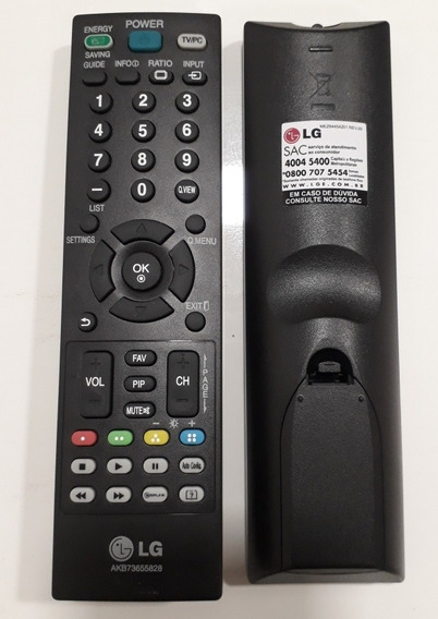 Controle Remoto Original Lg Modelo Akb73655828