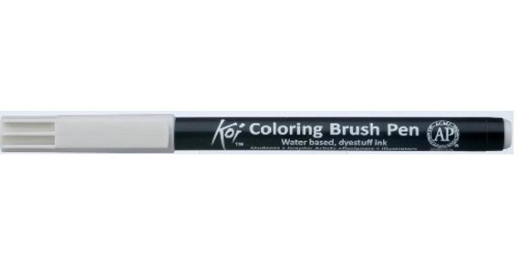 Caneta Pincel Koi Coloring Brush Pen Cinza Cool Claro Xbr153