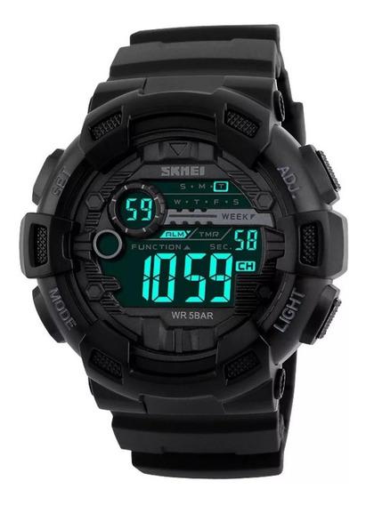 Relógio De Pulso Masculino Skmei Digital