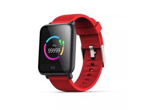 Q9 Relógio Esporte Inteligentes Freqüência Cardíaca Vermelho