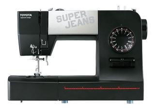 Máquina de coser Toyota Super Jeans J15 negra 220V - 240V