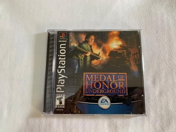 Medal Of Honor 2 Underground Ps1 Original Completo Americano
