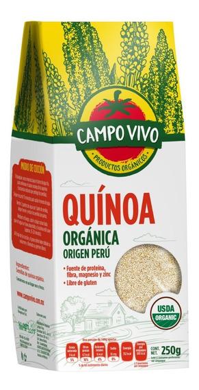 Quinoa Orgánica Campo Vivo 250 Gr