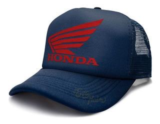 Honda Moto Auto Japón Gorra Trucker Eva Rain
