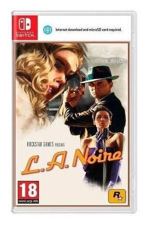 L.a. Noire - Switch Midia Fisica