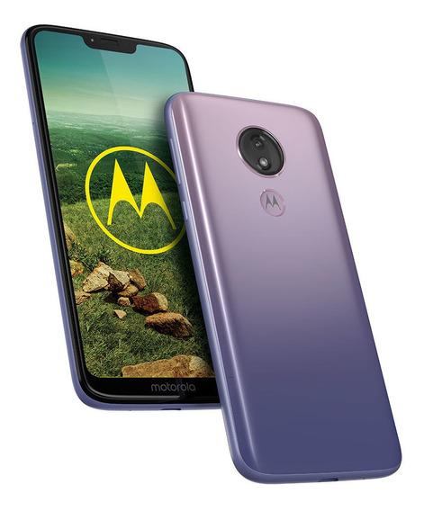 Celular Libre Moto G7 Power Iced Violeta Gradient
