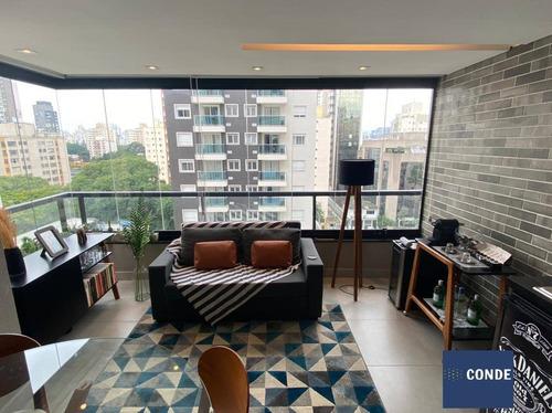 Imagem 1 de 15 de Apartamento Com Um Quarto A Venda Vn Vila Olímpia, Sp - 62030620