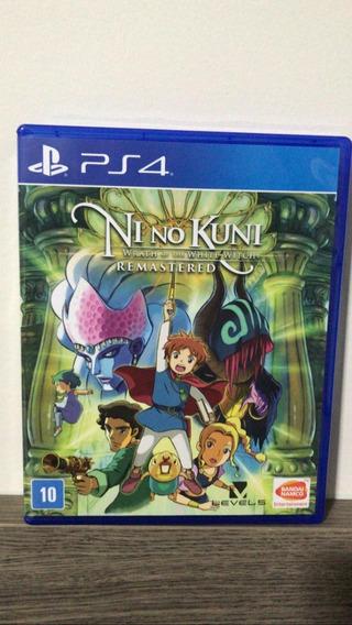 Ni No Kuni: Wrath Of The White Witch Remastered-mídia Física