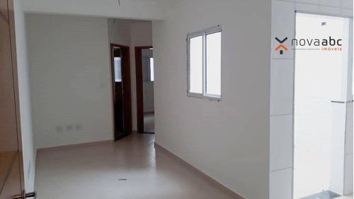 Imagem 1 de 5 de Cobertura Com 2 Dormitórios À Venda, 47 M² Por R$ 360.000 - Vila Assunção - Santo André/sp - Co1167