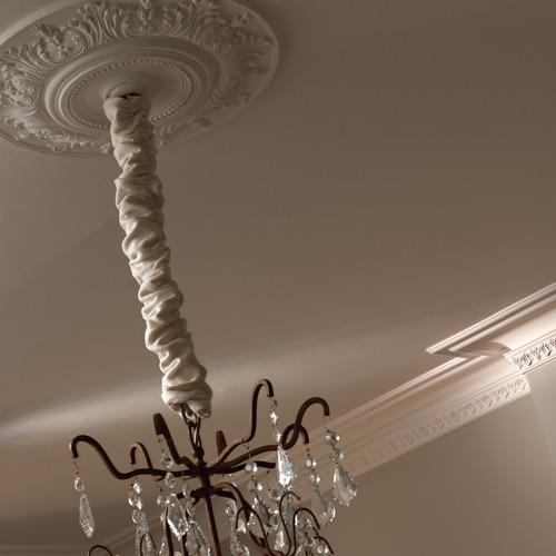 Rosetón Decorativo Para Lámpara Colgante