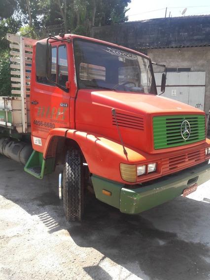 Mercedes-benz 1214 Km Original De Fabrica ,pintura Original
