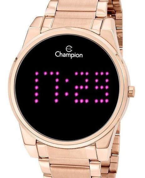 Relógio Champion Feminino Digital Rose Gold Ch40053p