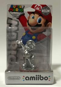 Nintendo Amiibo - Super Smash Bros - Silver Mario